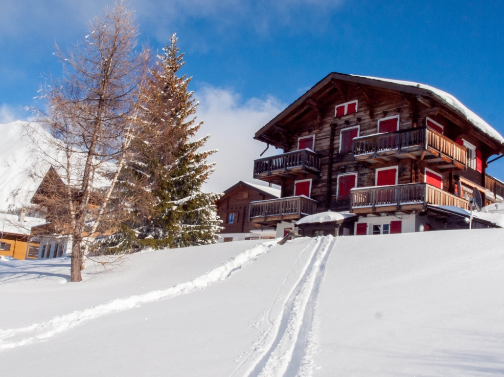 Chalet Ahorn Rosswald