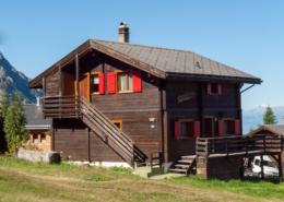 Chalet Alphütte Wallis Rosswald