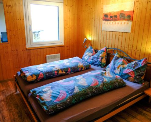 Chalet Fletschhorn Elternzimmer