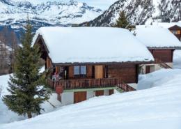 Chalet Bambi Rosswald im Winter