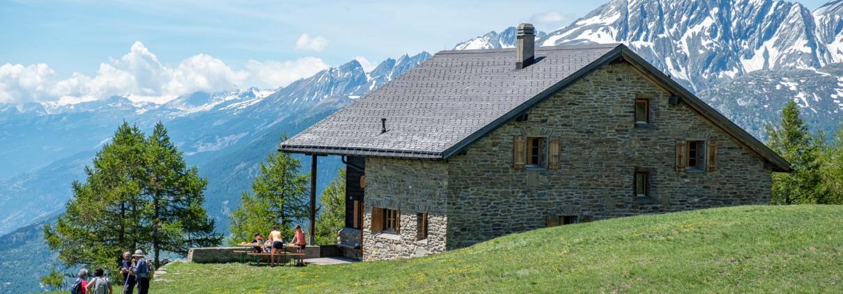 Saflischhütte Rosswald