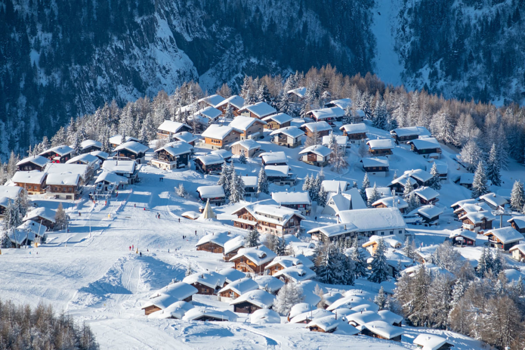 Alpe Rosswald im Winter