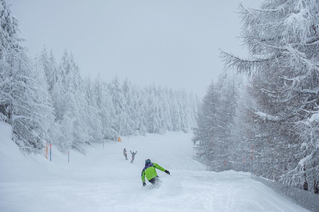 Skifahren Rosswald