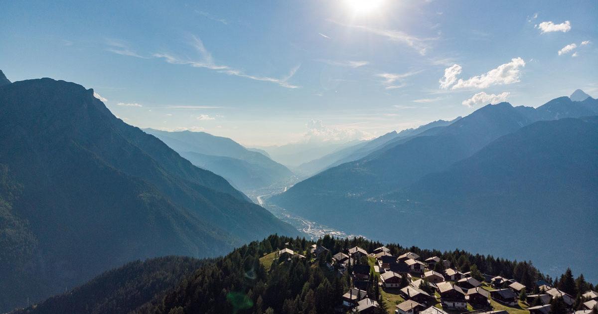 Ferienwohnung im Wallis