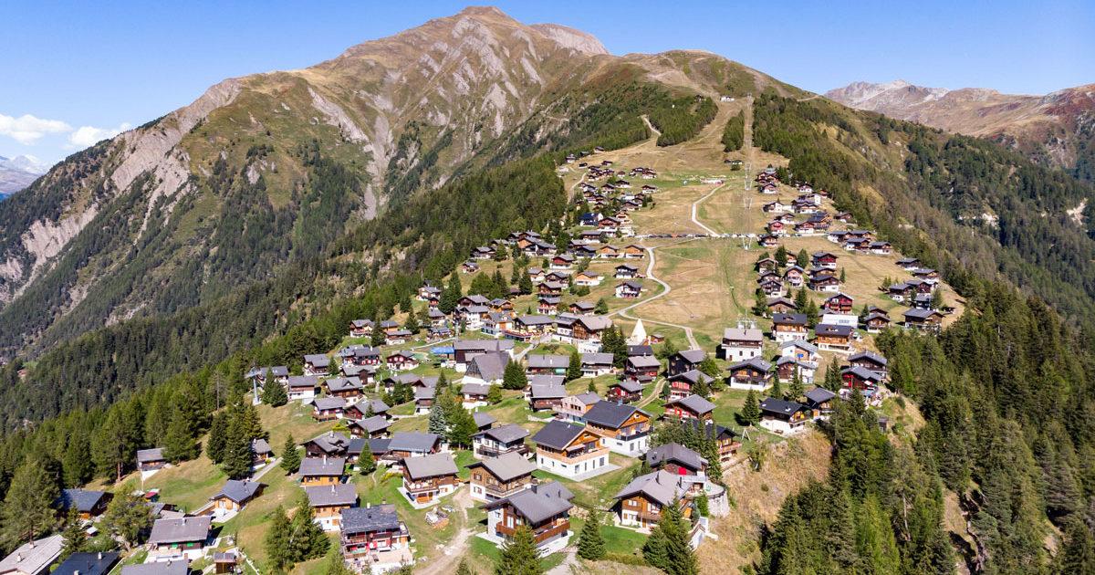Ferienwohnung im Wallis auf einer Alpe