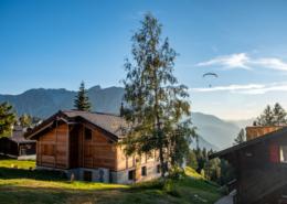 Chalet Seviann Rosswald im Wallis