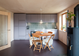 Esstisch Küche - Chalet Labbrunnu EG Rosswald