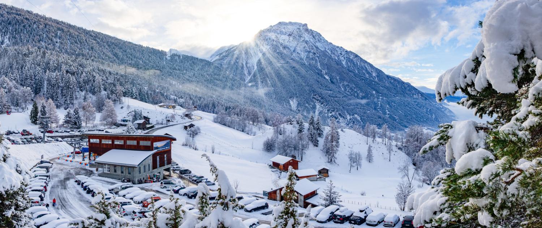 Rosswald Talstation Winter